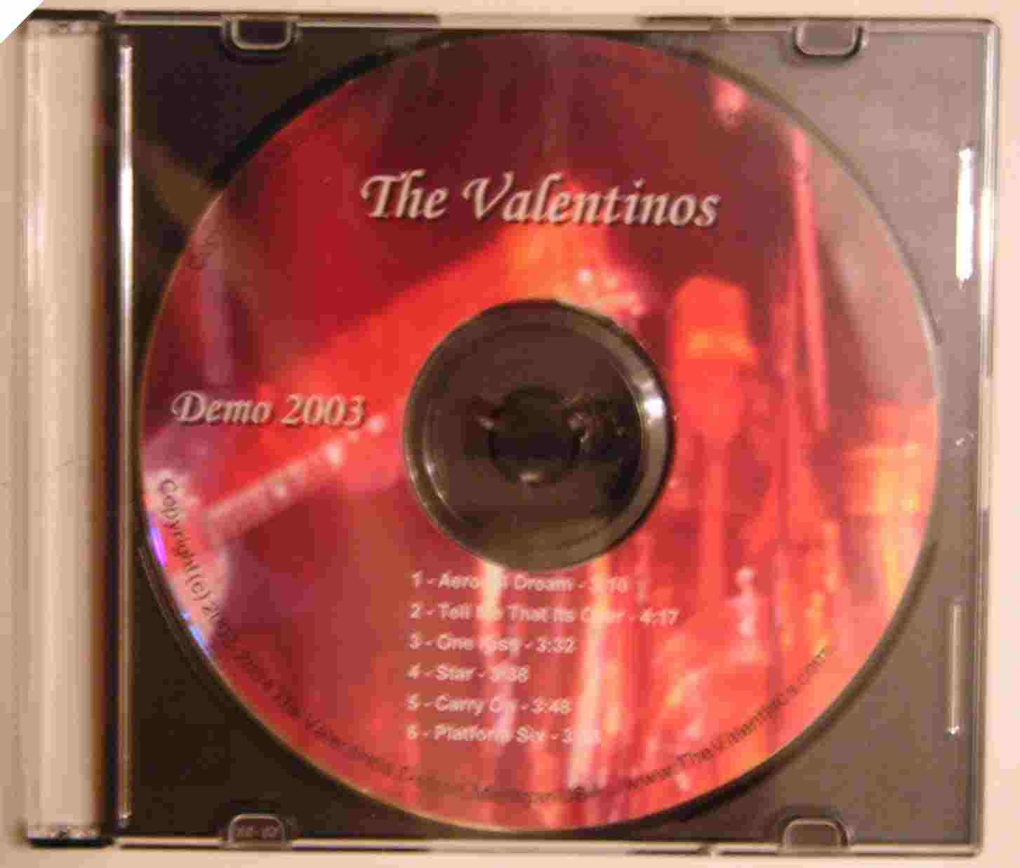 The Valentinos Demo 2003
